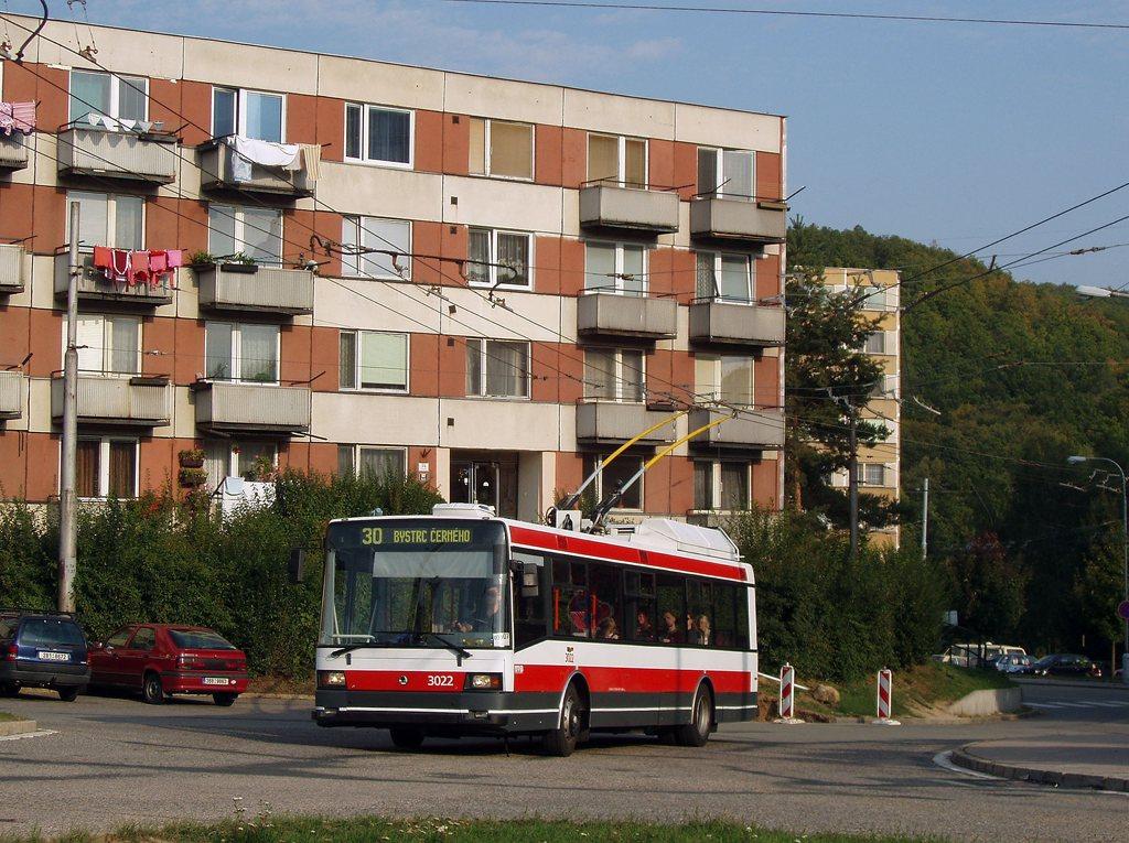Fotogalerie » Škoda 21Tr 3022   Brno   Bystrc   Černého
