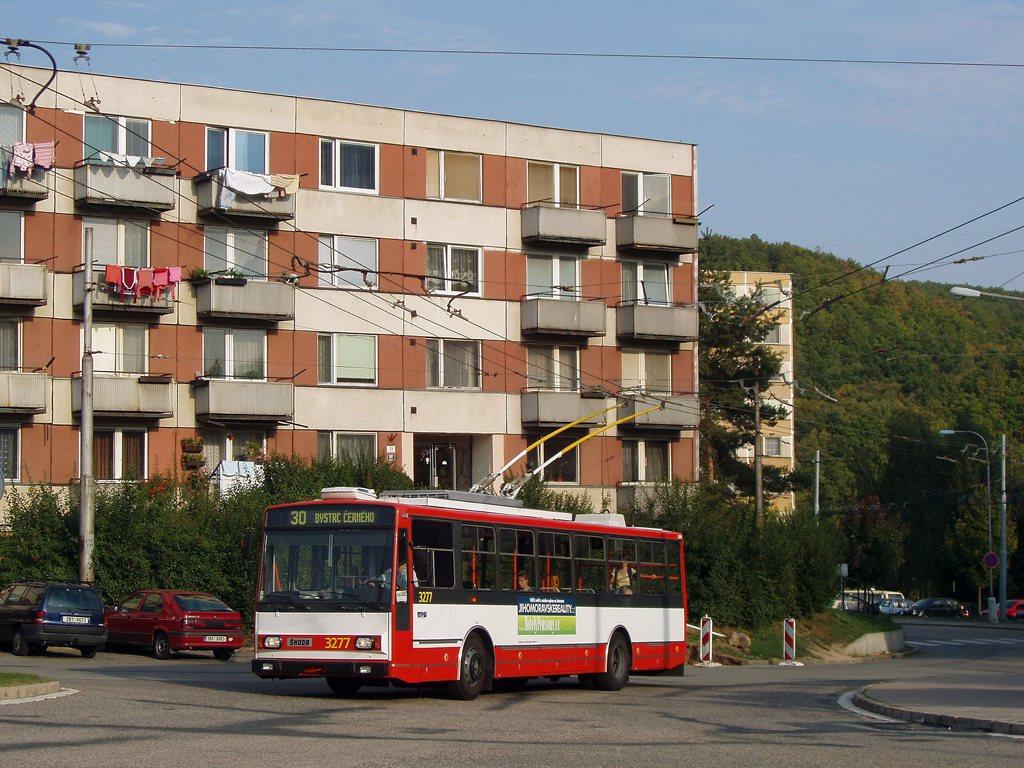 Fotogalerie » Škoda 14TrR 3277 | Brno | Bystrc | Černého