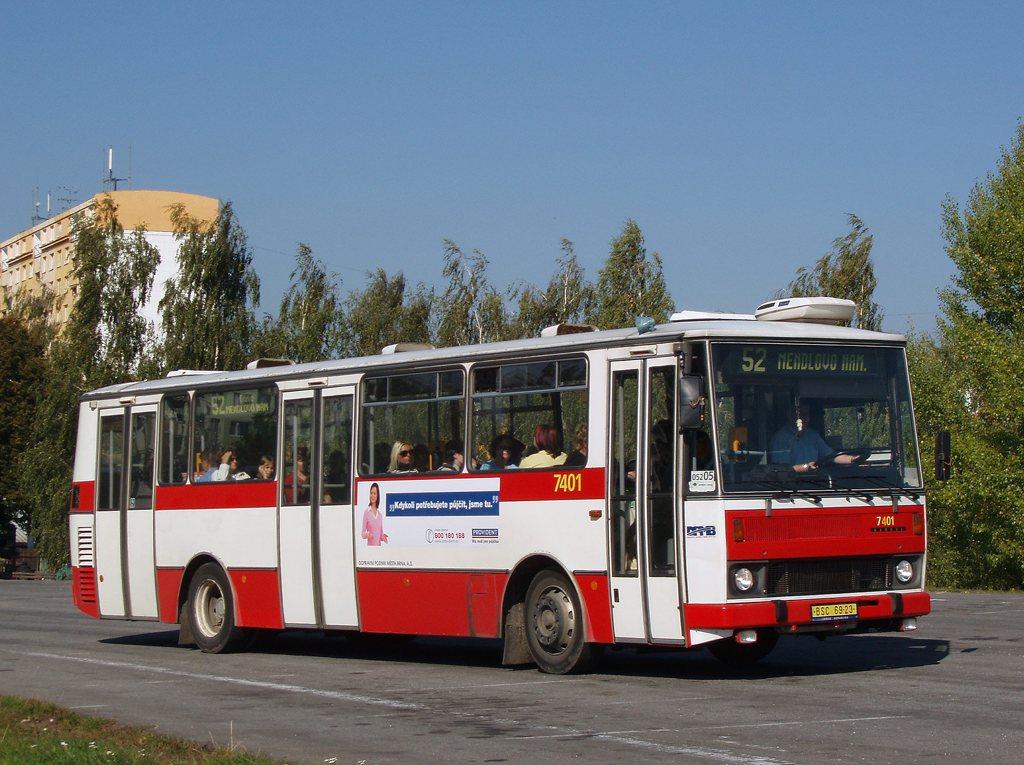 Fotogalerie » Karosa B731.1669 7401 | Brno | Kohoutovice | Žebětínská | Kohoutovice, hájenka