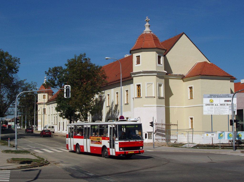 Fotogalerie » Karosa B731.1669 7414 | Brno | Královo Pole | Božetěchova