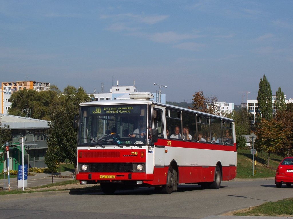 Fotogalerie » Karosa B731.1669 7418 | Brno | Královo Pole | Technická
