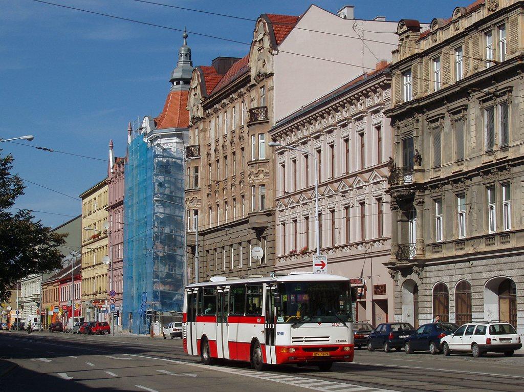 Fotogalerie » Karosa B931E.1707 7467 | Brno | střed | Lidická