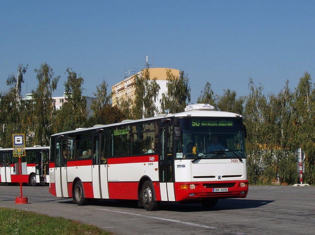 Fotogalerie » Karosa B951E.1713 7489 | Brno | Kohoutovice | Žebětínská | Kohoutovice, hájenka