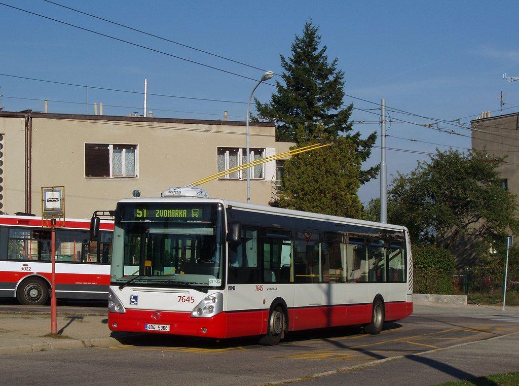Fotogalerie » Irisbus Citelis 12M 7645 | Brno | Masarykova Čtvrť | Barvičova | Barvičova