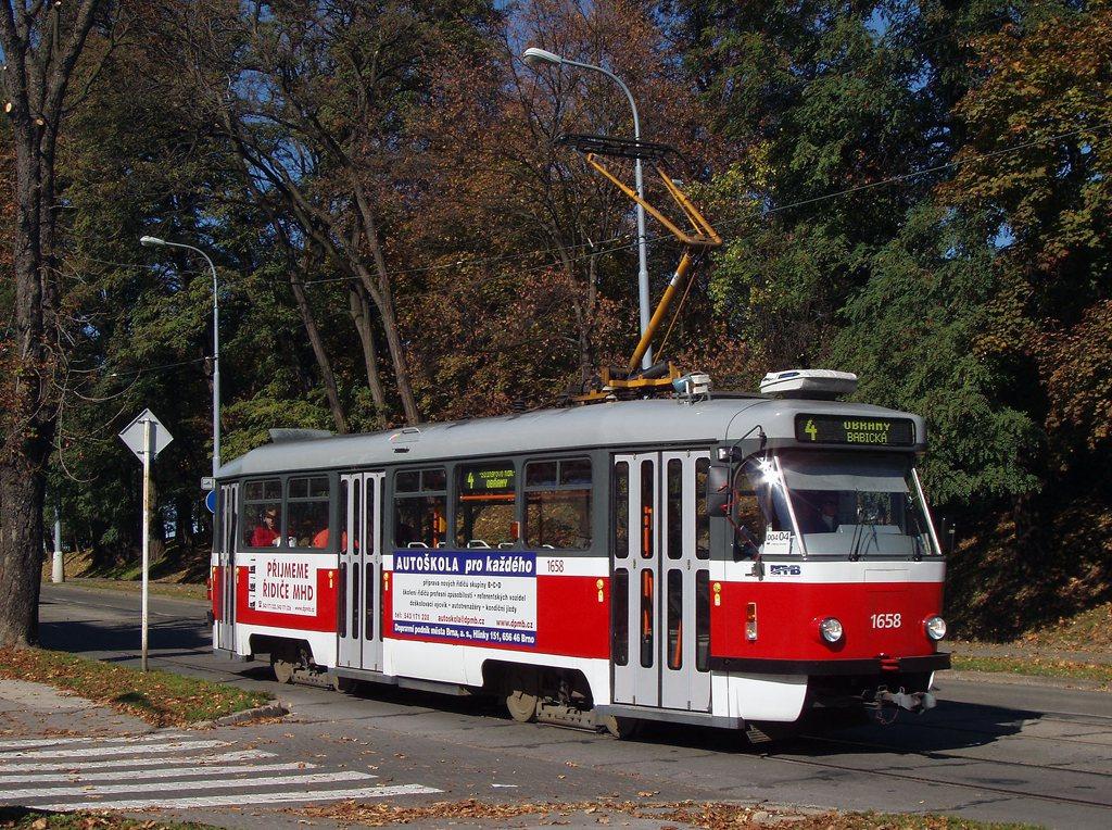 Fotogalerie » Pragoimex T3R.PV 1658 | Brno | Veveří | Údolní