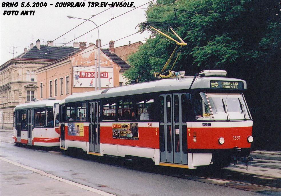 Fotogalerie » Pragoimex T3R.EV 1531 | Pragoimex VV60LF 1301 | Brno | Husovice | Vranovská
