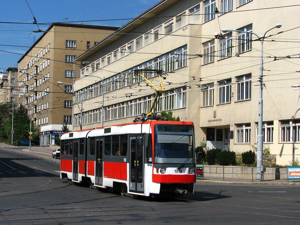 Fotogalerie » ČKD Tatra K2R 1018 | Brno | Černá Pole | Merhautova
