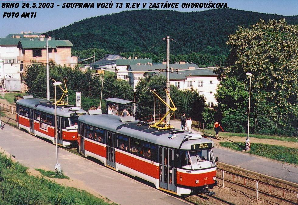 Fotogalerie » Pragoimex T3R.EV 1531 | Pragoimex T3R.EV 1562 | Brno | Bystrc | Ondrouškova