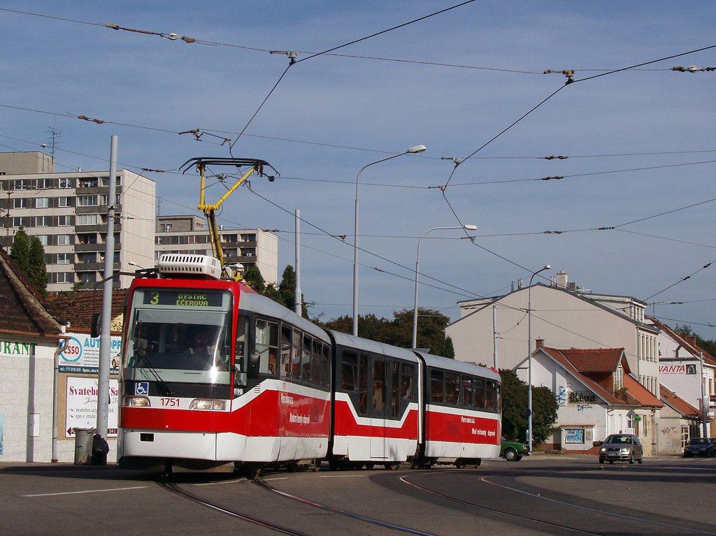 Fotogalerie » Pars Nova K3R-N 1751 | Brno | Žabovřesky | Rosického náměstí