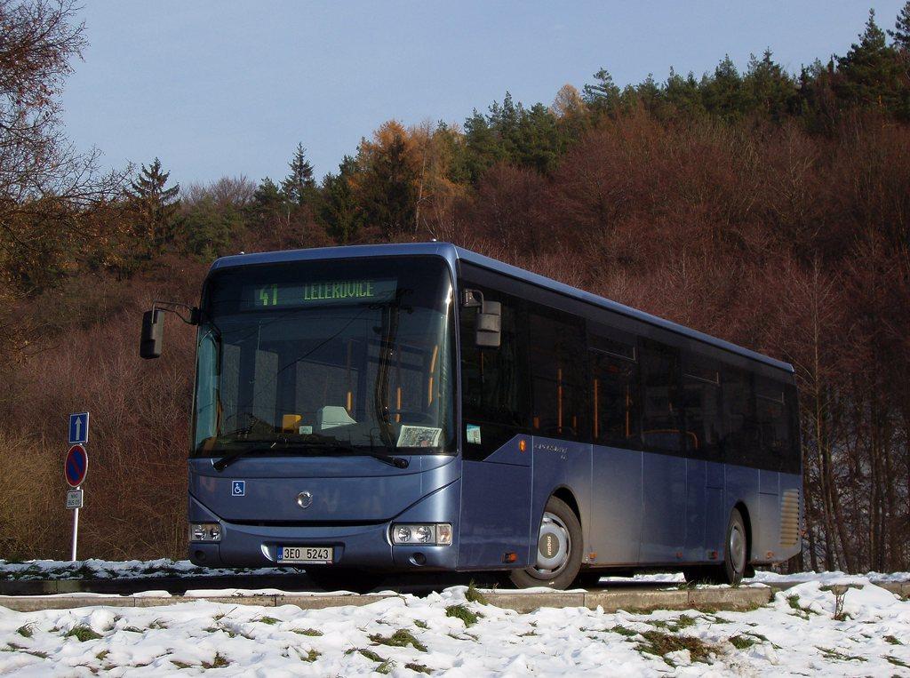 Fotogalerie » Irisbus Crossway LE 12M 3E0 5243 | Lelekovice