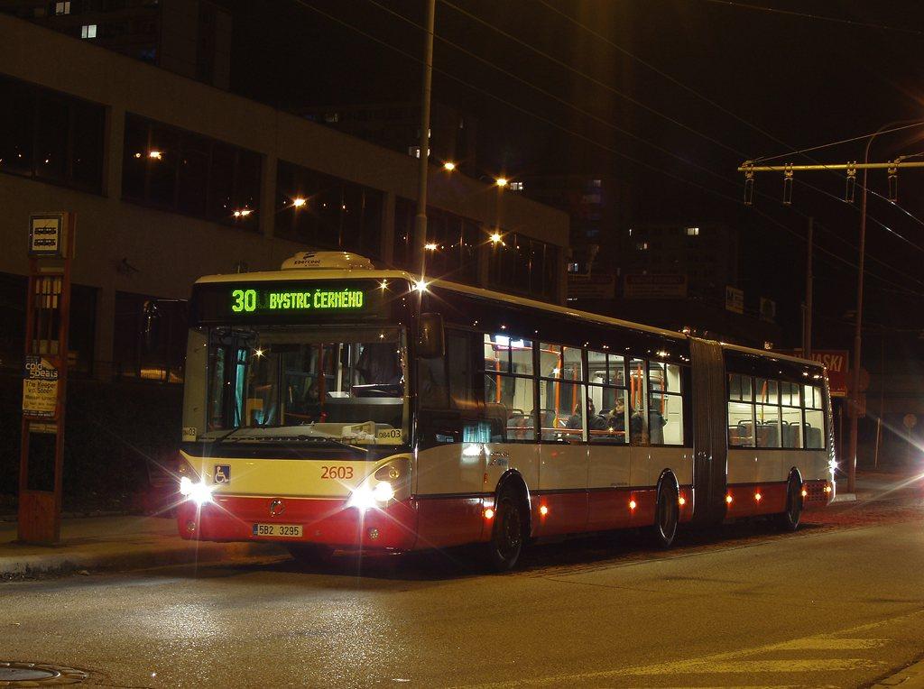 Fotogalerie » Irisbus Citelis 18M 2603 | Brno | Královo Pole | Budovcova | Královo Pole, nádraží