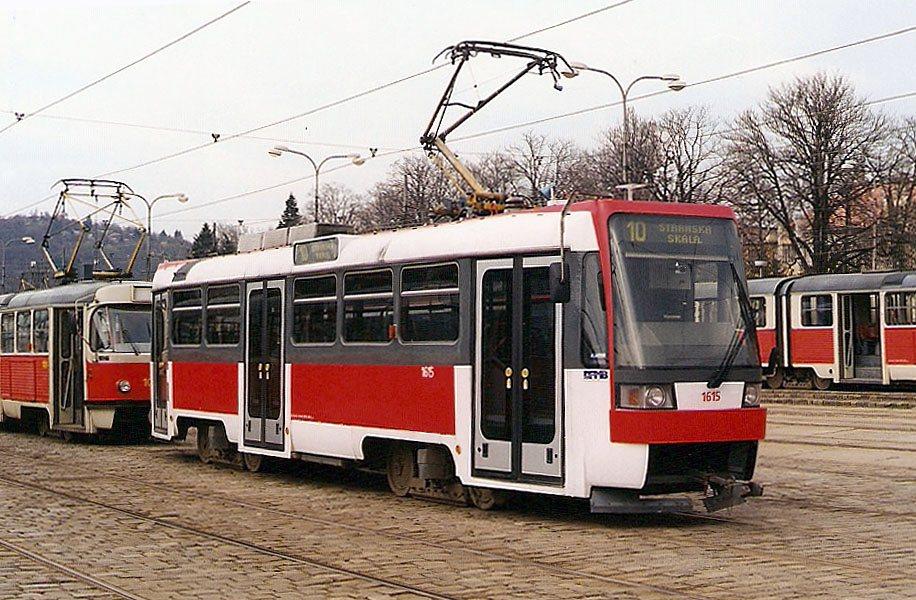 Fotogalerie » ČKD DS T3R 1615 | Brno | vozovna Pisárky