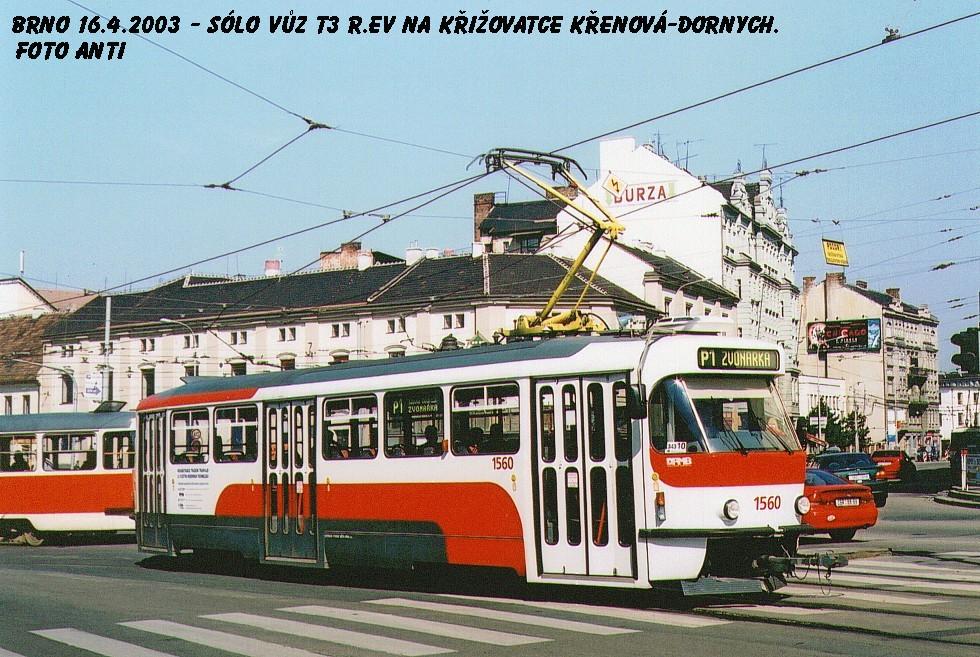 Fotogalerie » Pragoimex T3R.EV 1560   Brno   Trnitá   Dornych