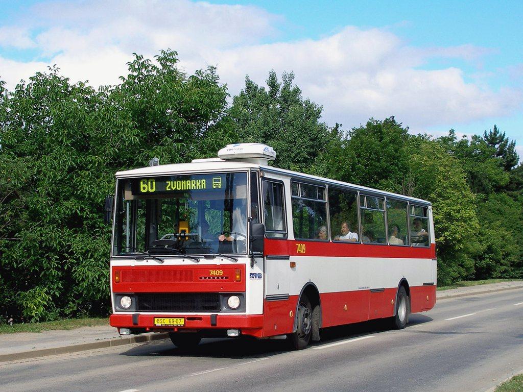 Fotogalerie » Karosa B731.1669 7409 | Brno | Bohunice | Kamenice