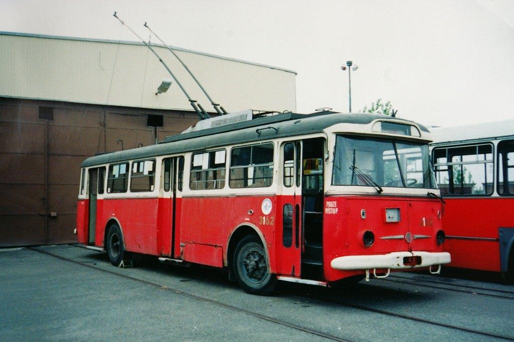 Fotogalerie » Škoda 9TrHT28 3162 | Brno | TMB Líšeň