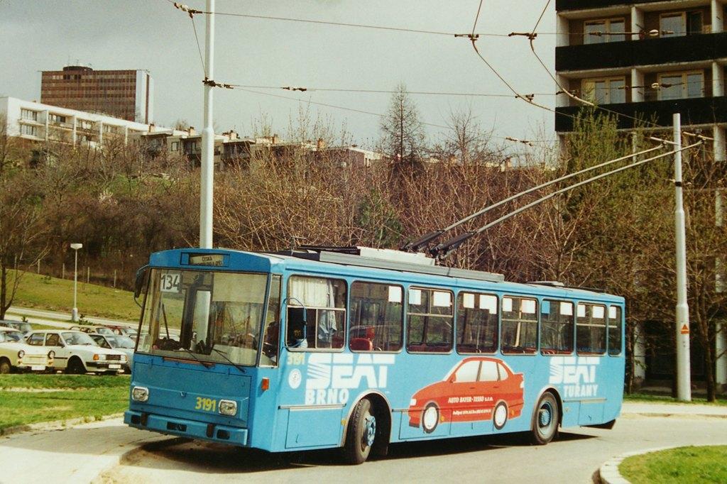 Fotogalerie » Škoda 14Tr05 3191 | Brno | Žabovřesky | Vychodilova
