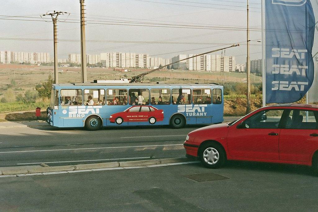 Fotogalerie » Škoda 14Tr05 3191 | Brno | Vinohrady | Žarošická