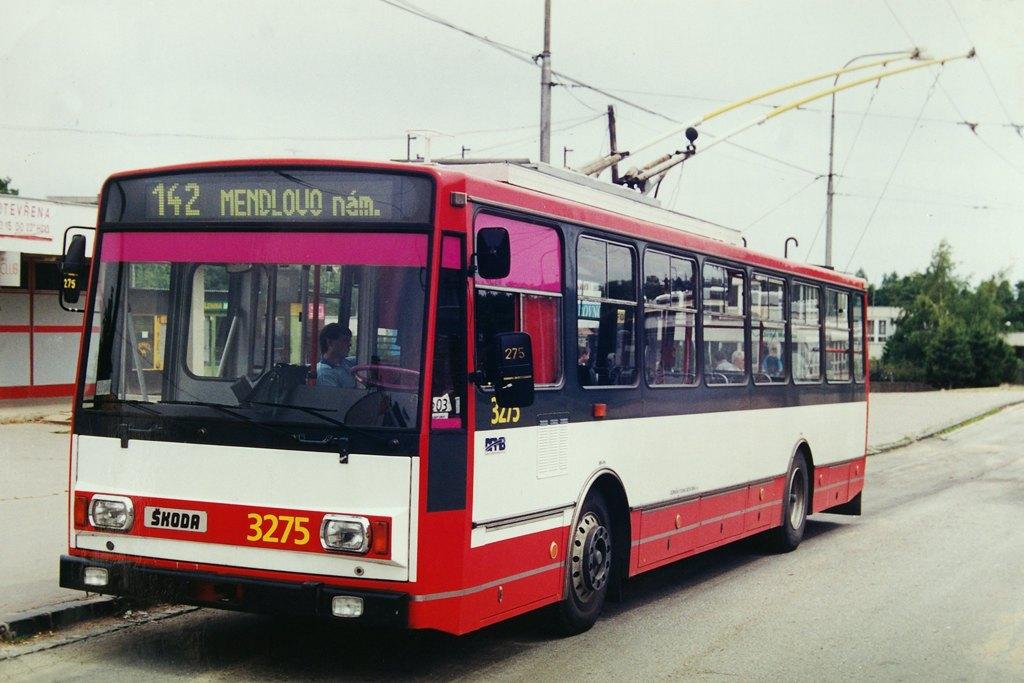 Fotogalerie » Škoda 14Tr17/6M 3275 | Brno | Kohoutovice | Jírovcova