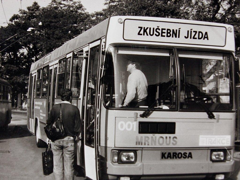 Fotogalerie » Karosa ČKD Tr831.03 001 ČKD 001 | Brno | střed | Hlavní nádraží, smyčka