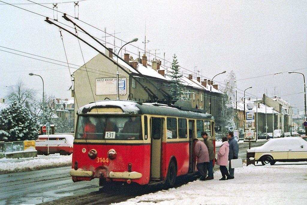 Fotogalerie » Škoda 9TrHT28 3144 | Brno | Černovice | Olomoucká | Spáčilova