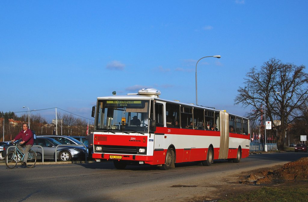 Fotogalerie » Karosa B741.1924 BSC 62-08 2311 | Brno | Jundrov | Veslařská