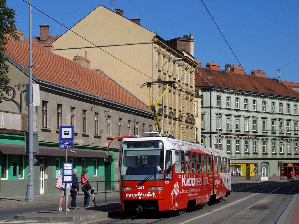 Fotogalerie » ČKD Tatra K2R03 1081 | Brno | Staré Brno | Křížová | Poříčí