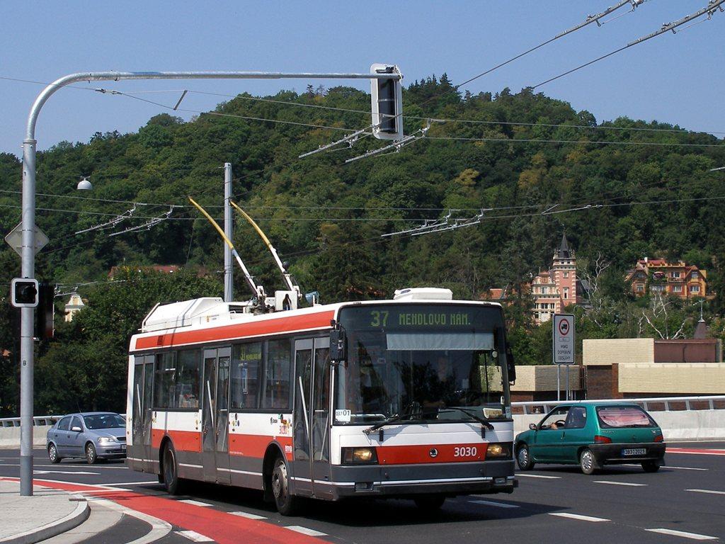 Fotogalerie » Škoda 21Tr 3030 | Brno | Pisárky | Hlinky