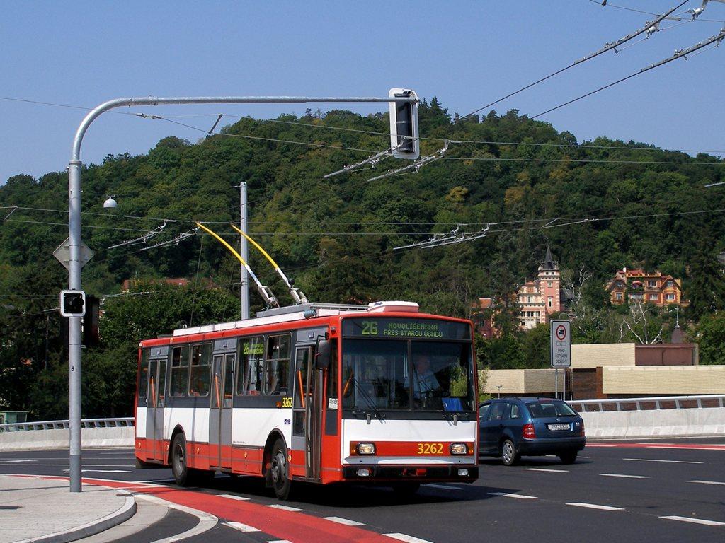 Fotogalerie » Škoda 14TrR 3262   Brno   Pisárky   Hlinky