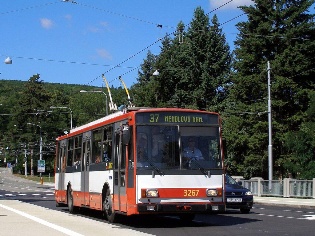 Fotogalerie » Škoda 14TrR 3267 | Brno | Pisárky | Pisárecká