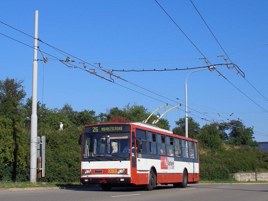 Fotogalerie » Škoda 14Tr17/6M 3283 | Brno | Vinohrady | Věstonická