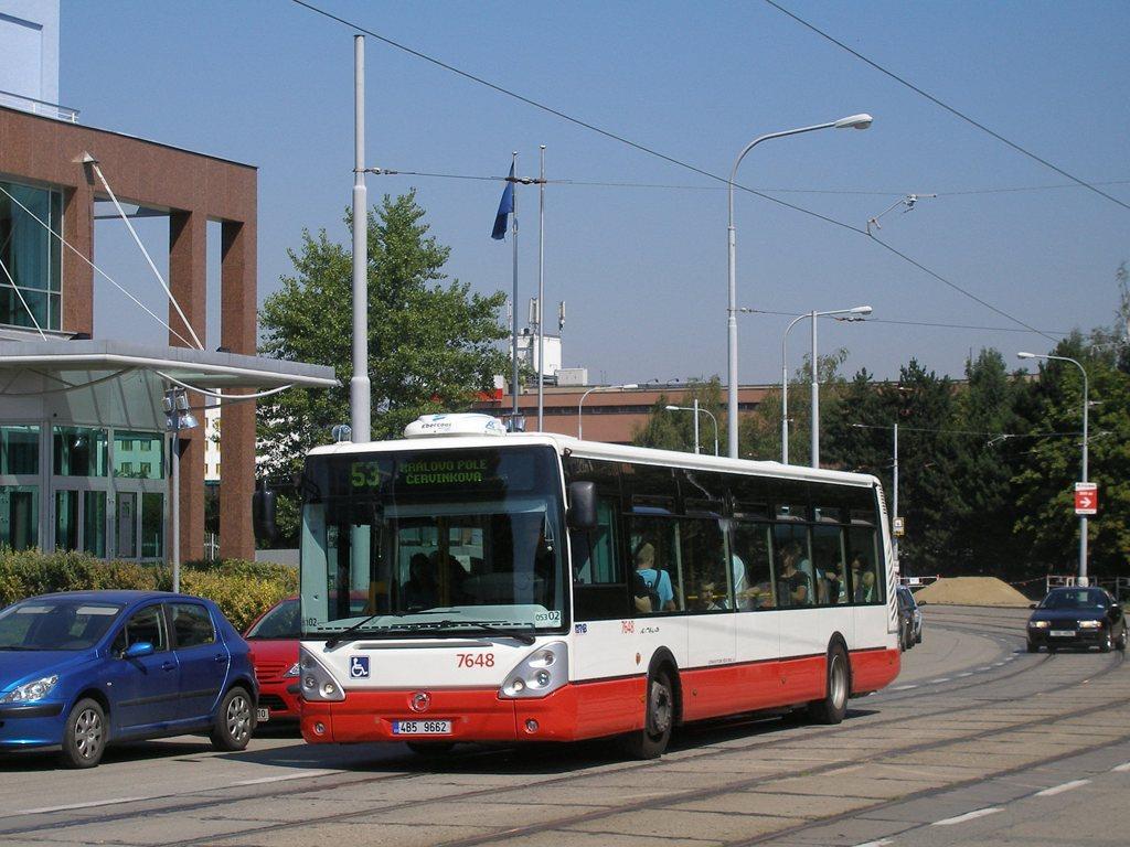 Fotogalerie » Irisbus Citelis 12M 7648   Brno   Královo Pole   Purkyňova
