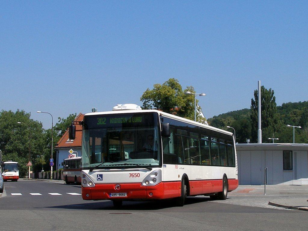 Fotogalerie » Irisbus Citelis 12M 7650 | Brno | Bystrc | náměstí 28. dubna | Zoologická zahrada, smyčka