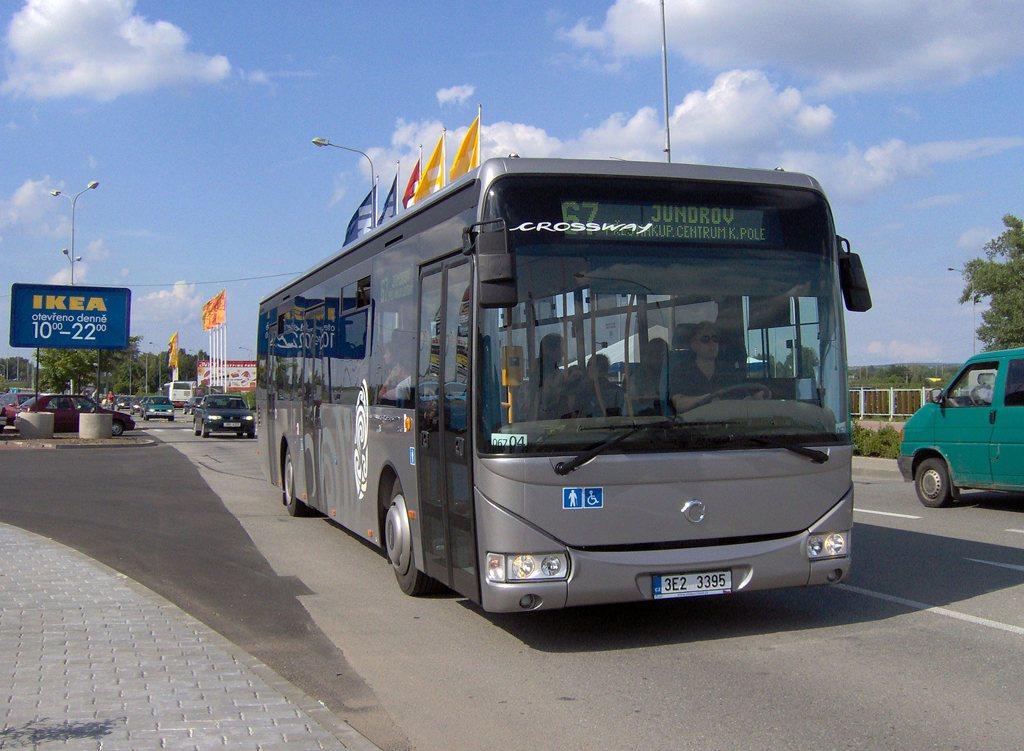 Fotogalerie » Irisbus Crossway LE 12M 3E2 3395 2709 | Brno | Dolní Heršpice | Skandinávská | Electroworld