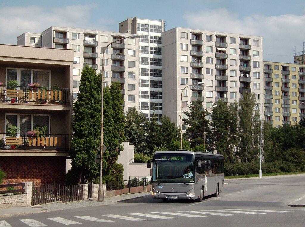 Fotogalerie » Irisbus Crossway LE 12M 3E2 3395 2709 | Brno | Řečkovice | Měřičkova