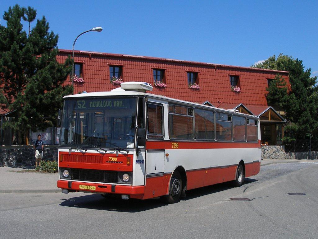 Fotogalerie » Karosa B731.1669 7399 | Brno | Žebětín | Křivánkovo Náměstí | Křivánkovo náměstí