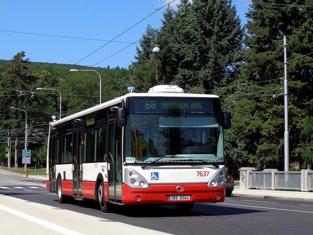 Fotogalerie » Irisbus Citelis 12M 7637 | Brno | Pisárky | Pisárecká