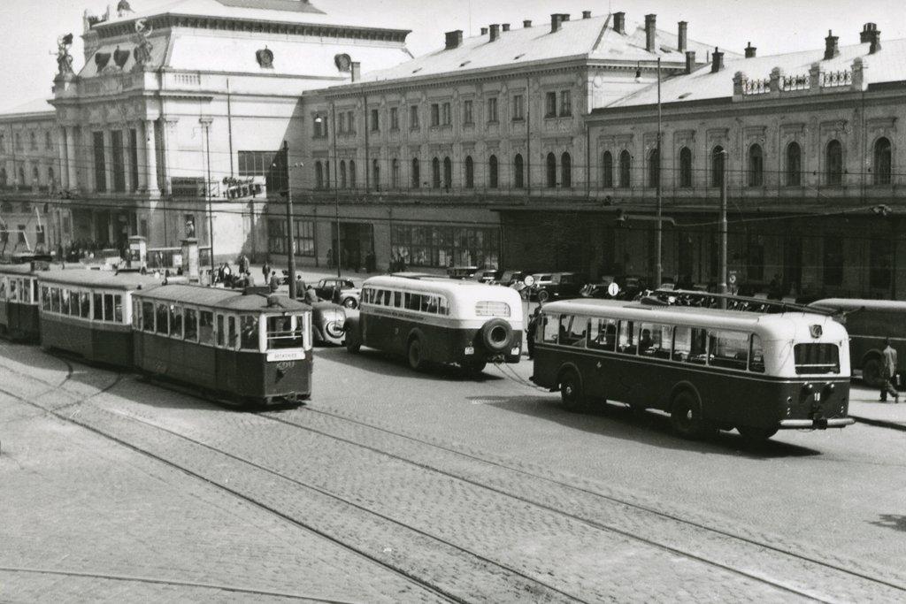 Fotogalerie » Škoda 6Tr1 10 | Brno | střed | Nádražní