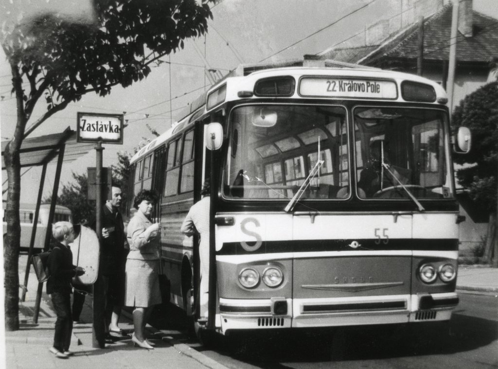 Fotogalerie » Škoda T11/0 55 | Brno | Královo Pole | Srbská | Srbská