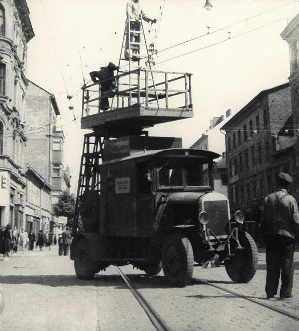 Fotogalerie » ? montážní plošiny | Brno | Trnitá | Křenová