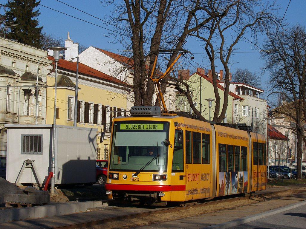 Fotogalerie » Škoda 03T7 1820 | Brno | Pisárky | Hlinky | Výstaviště, vstup G2