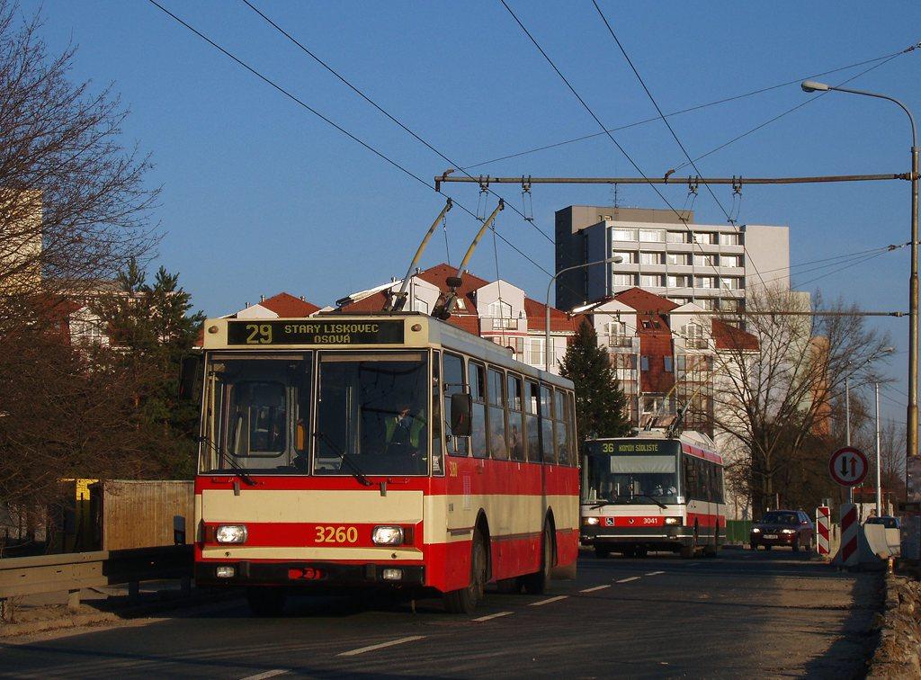 Fotogalerie » Škoda 14Tr14 3260 | Brno | Žabovřesky | Korejská