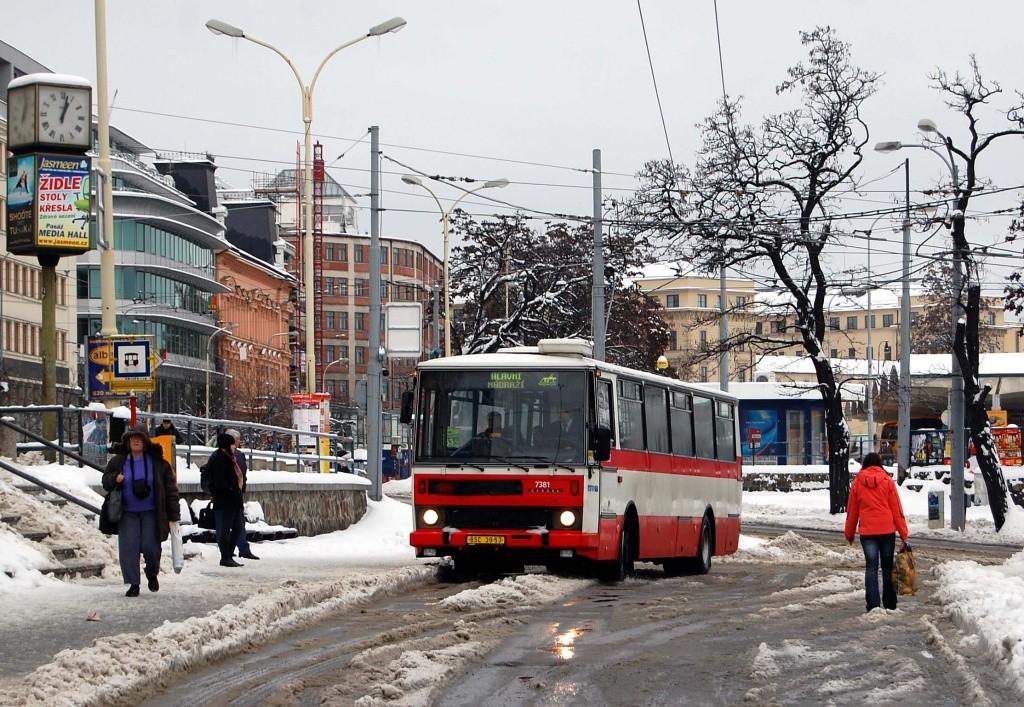 Fotogalerie » Karosa B732.1654.3 BSC 39-53 7381 | Brno | střed | Nádražní | Hlavní nádraží
