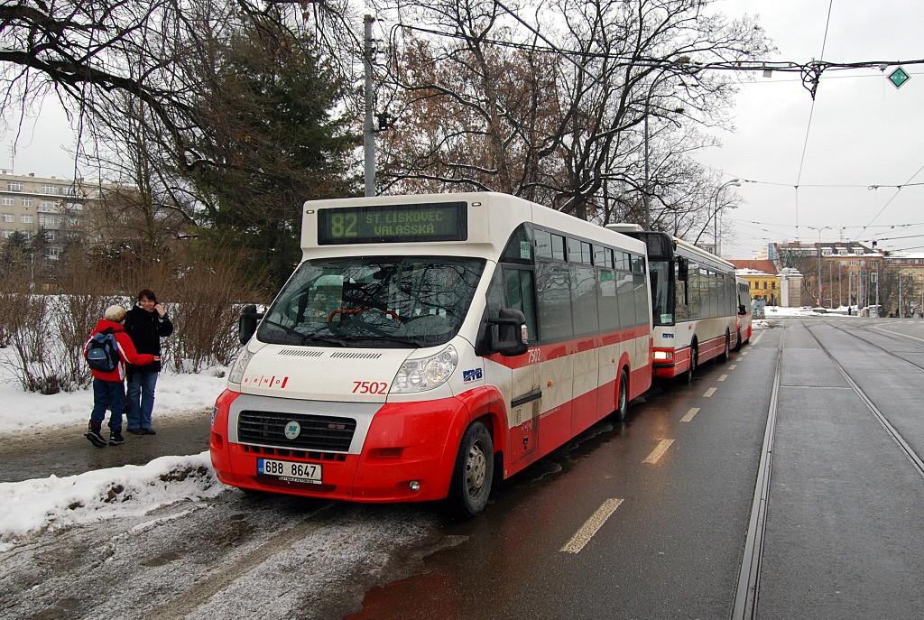 Fotogalerie » MAVE-Fiat CiBus ENA MAXI 6B8 8647 7502 | Brno | střed | Joštova | Česká