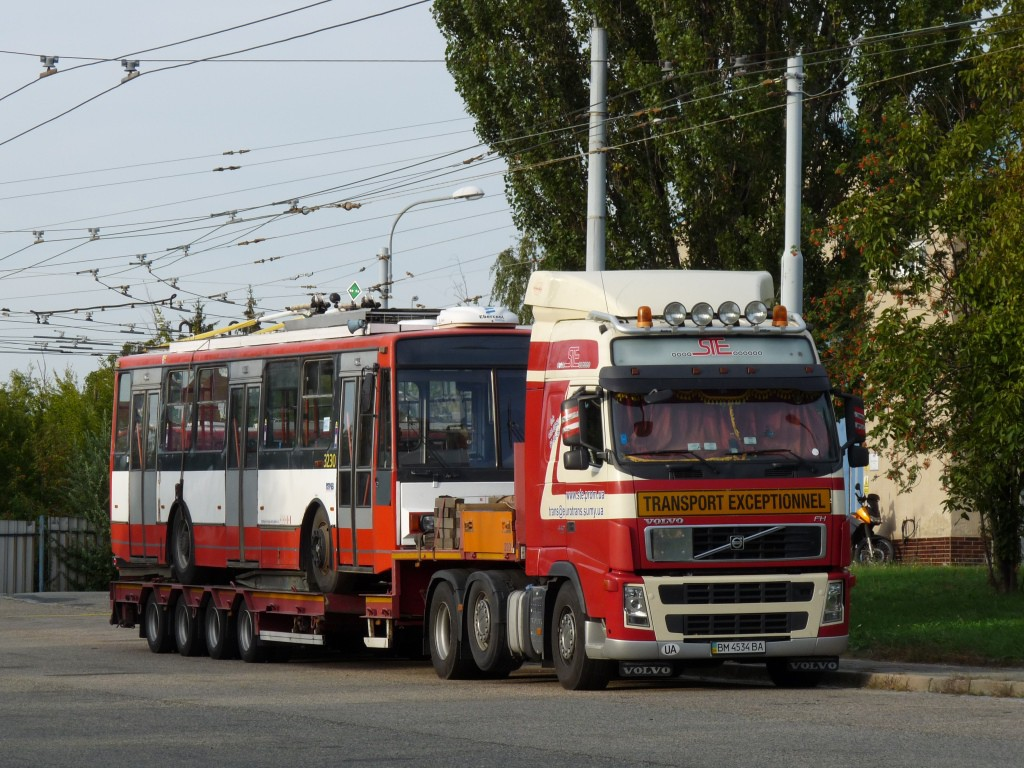 Fotogalerie » Škoda 14TrR 3230 | Brno | Vozovna Slatina