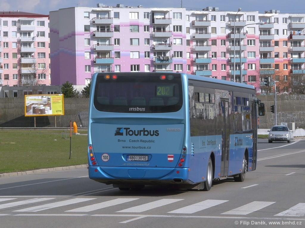 Fotogalerie » Irisbus Crossway LE 12M 6B0 3015   Brno   Vinohrady   Žarošická