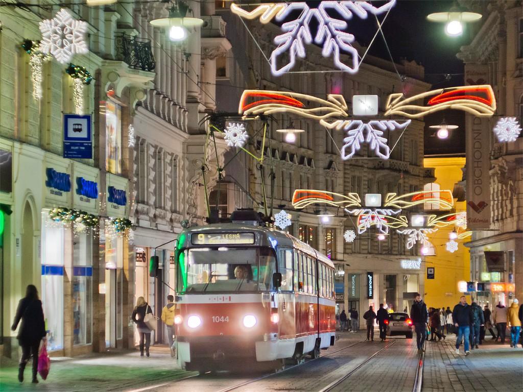 Fotogalerie » ČKD Tatra K2T 1044 | Brno | střed | Masarykova | Zelný trh