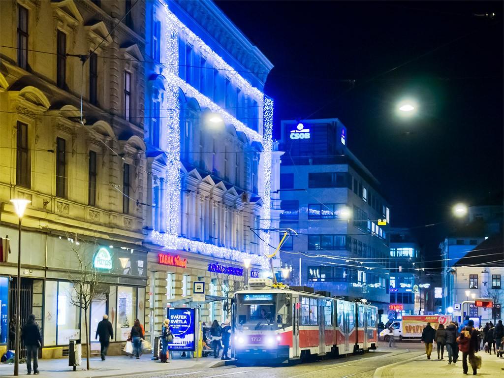 Fotogalerie » ČKD Tatra KT8D5N 1732 | Brno | střed | Česká | Česká