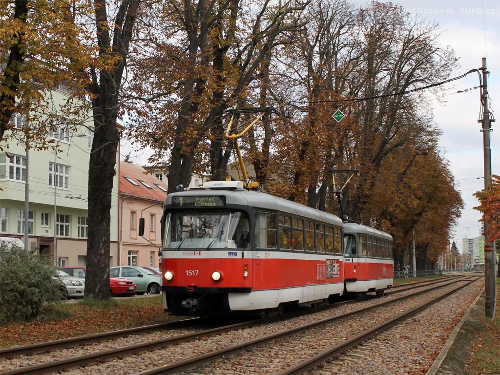 Fotogalerie » Pragoimex T3R.PV 1517   Pragoimex T3R.PV 1558   Brno   Pisárky   Hlinky