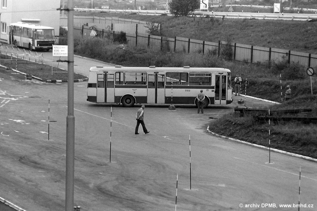 Fotogalerie » Karosa B731.00 BSA 83-02 7013 | Brno | Vozovna Slatina
