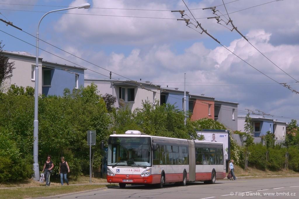 Fotogalerie » Irisbus Citelis 18M 6B6 6832 2622   Brno   Vinohrady   Věstonická   Mutěnická